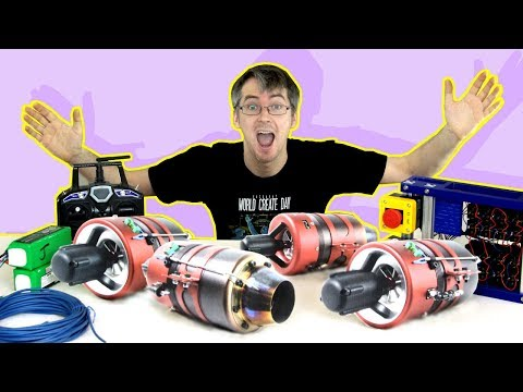Project Update: I BOUGHT *FOUR* JET ENGINES!!   | XRobots