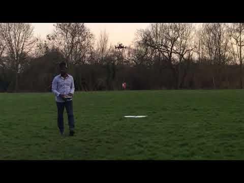 Custom 360 degree Lidar on drone/Uav X8 octoquad -windy condition