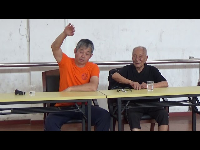 Chi Sau with Grandmaster Ip Chun pt5
