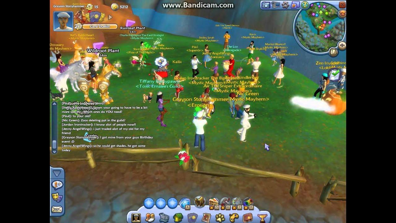Mystic Mayhem's Trading Party!