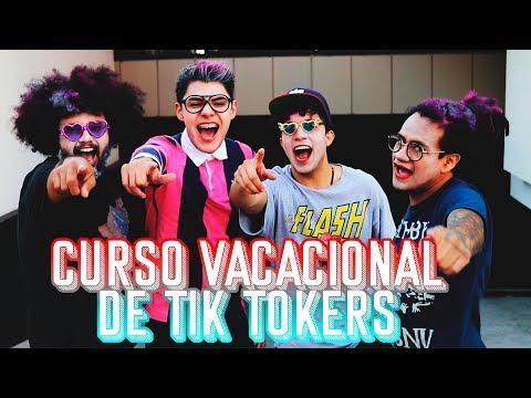 Curso Vacacional TIK TOKER | Kike Jav, Esquesoybrandon, Chimboster