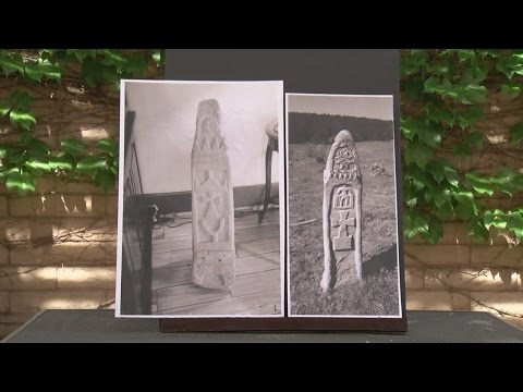 Mysterious stone pillars emerge from northern New Mexico forest