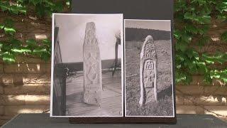 アメリカ・ニューメキシコ州北部の森林で謎の石柱が発見される。