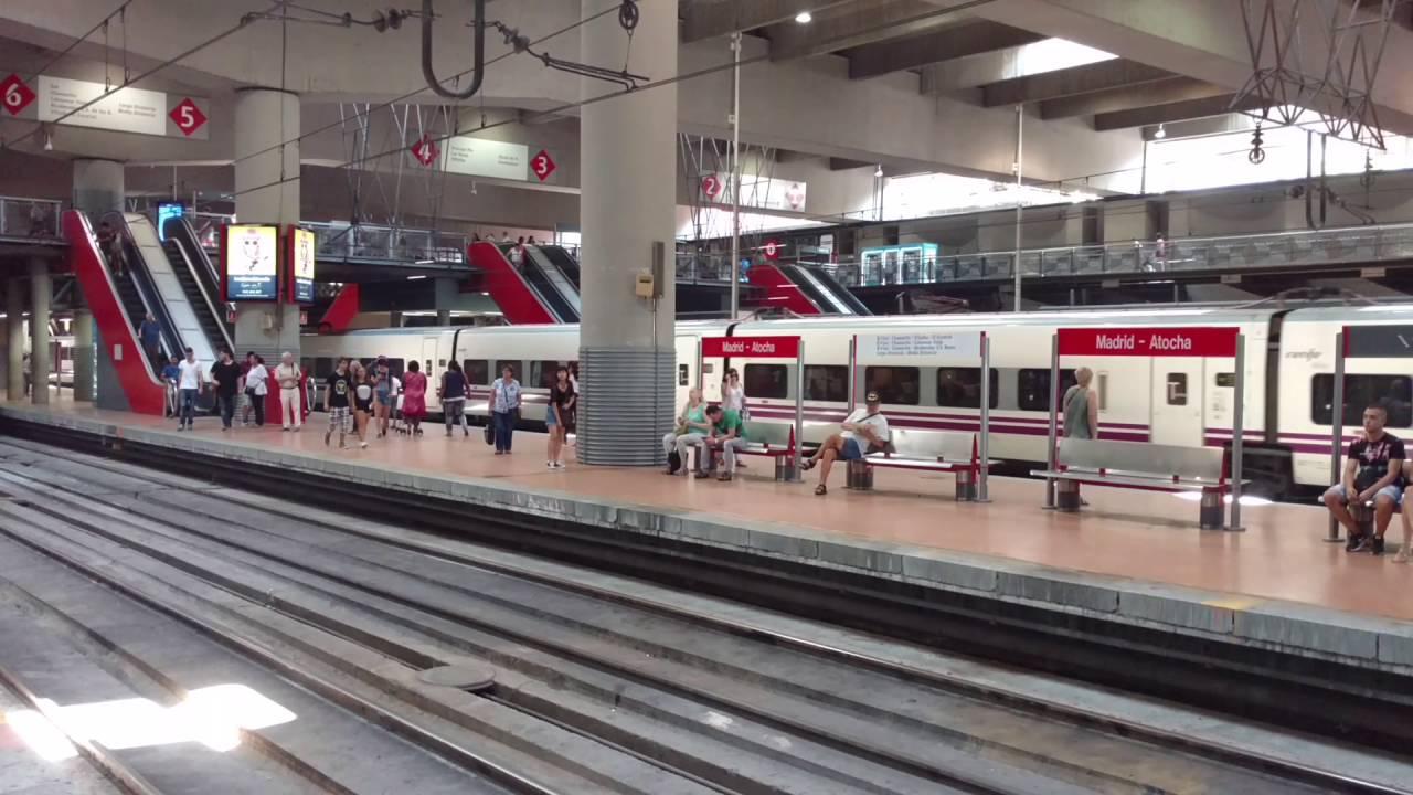 Estación Atocha Madrid España RENFE - YouTube