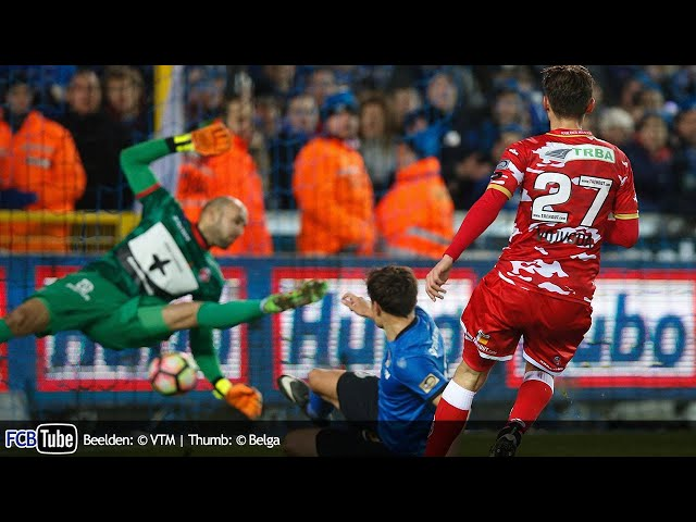 2016-2017 - Jupiler Pro League - 21. Club Brugge - Royal Excel Mouscron 2-1
