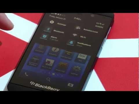 Full BlackBerry 10 Walk Through!