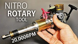 Nitro Powered Rotary Tool