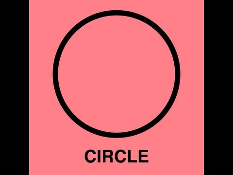 Circle Song (Learn Circles for Kids - Classic Video)