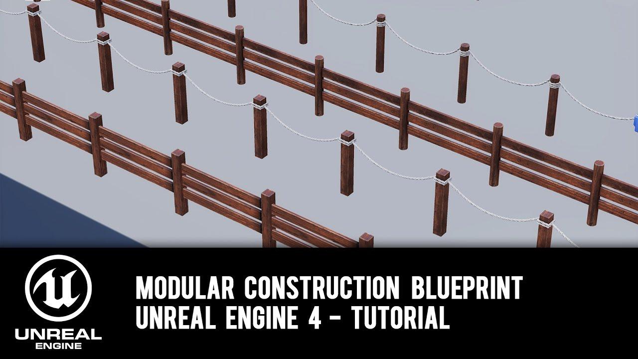Modular construction blueprint ue4 tutorial youtube modular construction blueprint ue4 tutorial malvernweather Choice Image