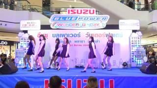 160820 [Wide] Unnie cover GFRIEND - ROUGH + NAVILLERA @ ISUZU Cover Dance 2016