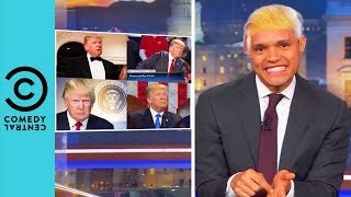Trevor Noah's Spot On Donald Trump Impressions | The Daily Show