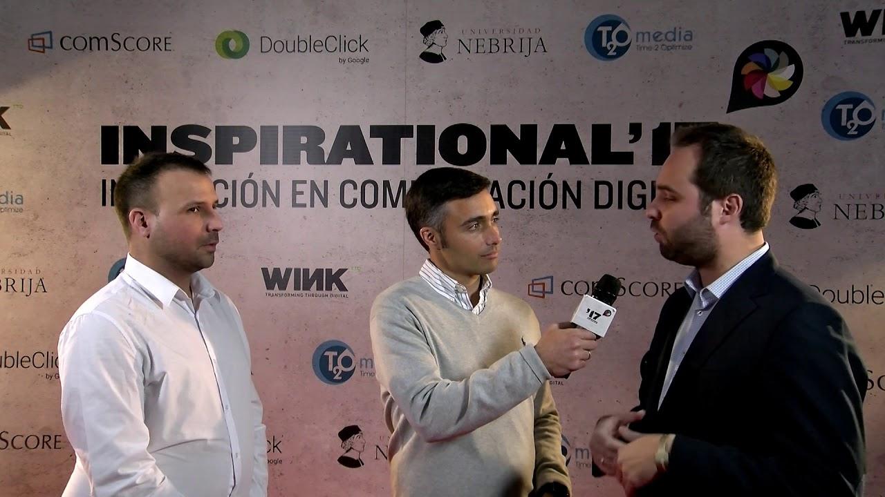 Festival Inspirational 2017: Entrevista a  Fran Villalobos (Marca)  y Federico Schwarz (Playbuzz)