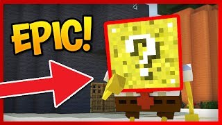 SpongeBob Squarepants Lucky Blocks in Bikini Bottom!