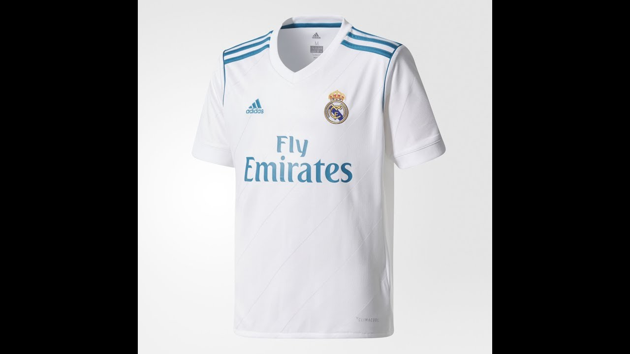 1eb207554 All shirts kits in history of Real Madrid (1902-2018) - YouTube