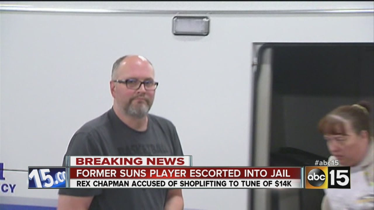 Ex NBA player Rex Chapman accused of shoplifting