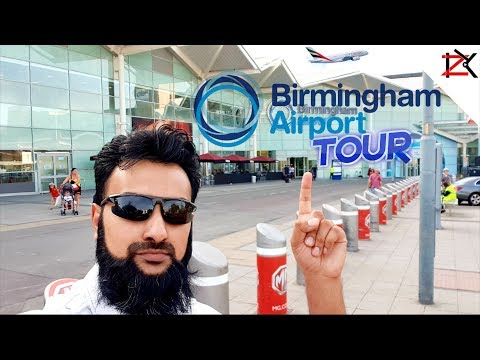 Tour Guide Around Birmingham Airport U.K  | Cheapest NCP Car Parking | Airline Plane Viewings