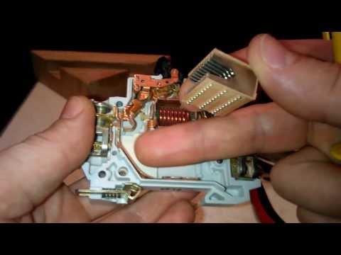 Устройство автоматического выключателя ABB