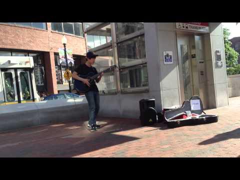 (Kotaro Oshio)Fight - Johnny Kim - Harvard Square in Boston