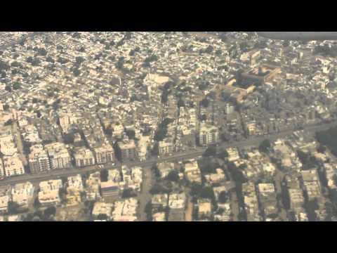 Landing at Karachi from Multan PIA 737 Part 4 High Quality