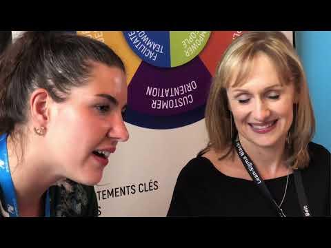 En direct du Salon de l'emploi Synergie.aero - Saint Médard en Jalles 2018