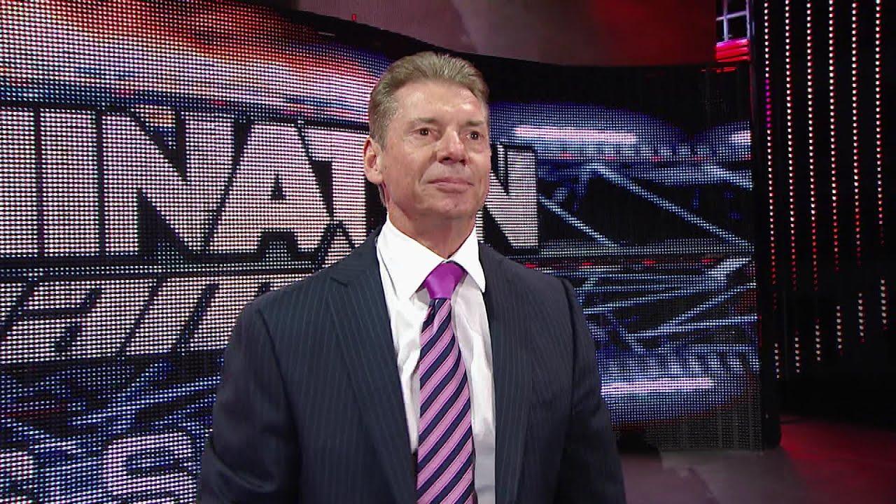 Mr. McMahon addresses the WWE Universe in Nassau Coliseum - YouTube