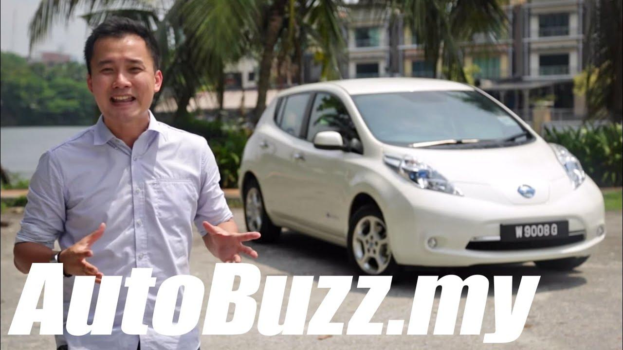 2013 Nissan Leaf Electric Car Review   AutoBuzz.my