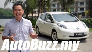 2013 Nissan Leaf electric car review - AutoBuzz.my
