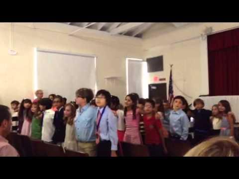 Coconut Grove Elementary School 2da parte Cancion final de 3er Grado 2015