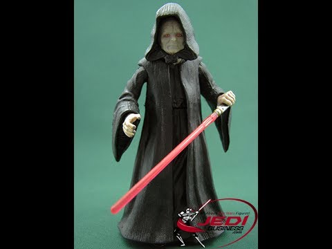Star Wars Episode Iii Revenge Of The Sith Emperor Palpatine Figure Review Youtube