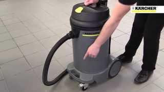 karcher nt 48 1 wet dry vacuum cleaner 240v