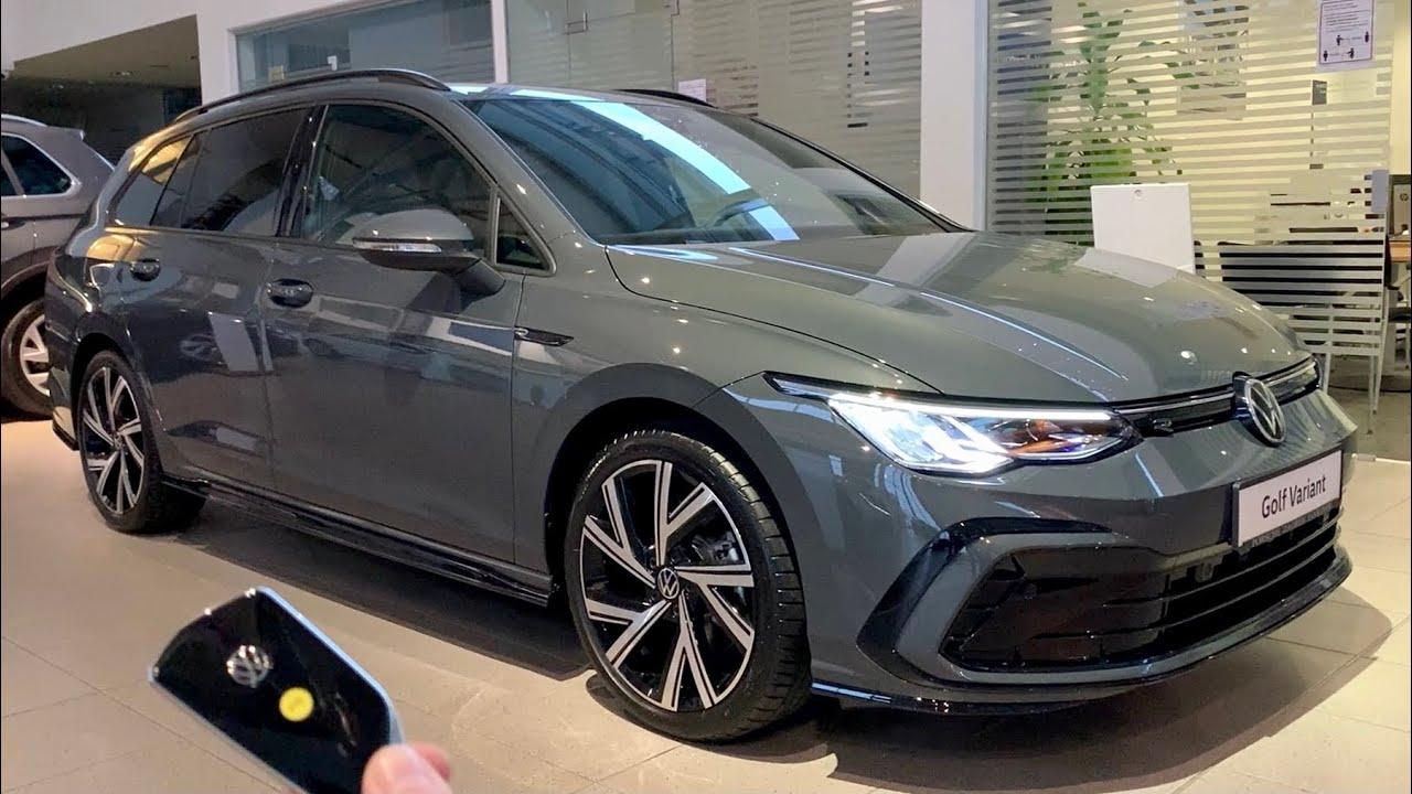 New Volkswagen Golf 8 Variant R Line 2021 Full In Depth Review Exterior Interior 150 Hp Tdi Youtube