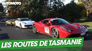 Sur la route des diables de Tasmanie