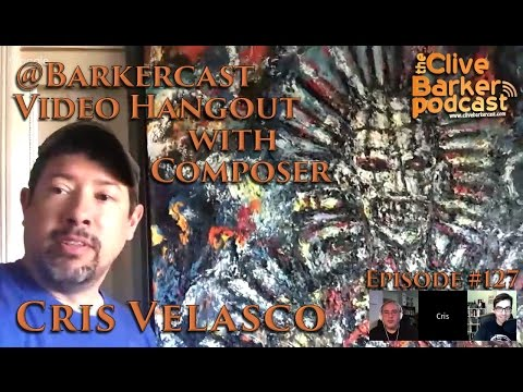 @Barkercast Hangout Live on Air  with Composer Cris Velasco