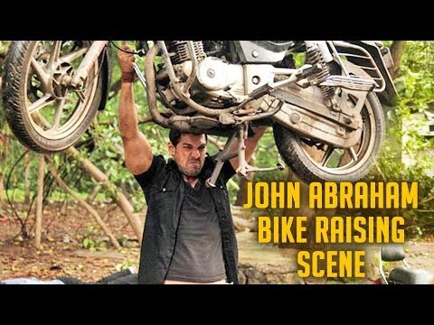 John Abraham Bike Raising Scene || Force...