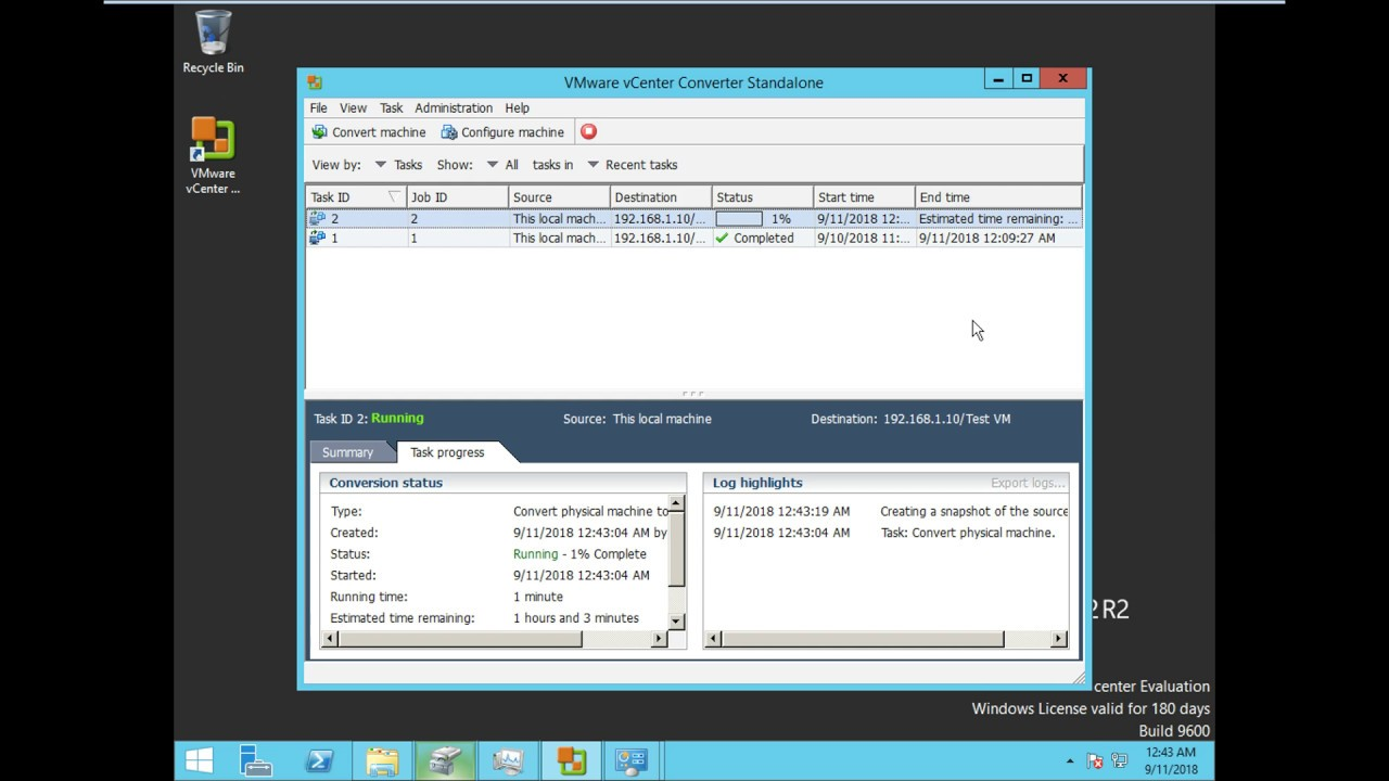 How to use VMware Converter for P2V migration: Step by Step