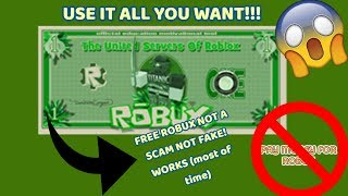HOW TO GET FREE ROBUX!!!   -No inspect, no javascript, no copy and paste-