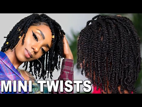 easy-protective-style-for-natural-hair-growth-|-mini-twist