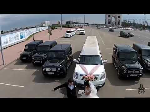 outstand mafia wedding in Azerbaijan with huge selection of cars