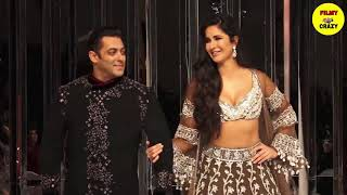 Salman Khan and Katrina Kaif First Ramp Walk after Bharat Success at LFW 2019  For Manish Malhotra