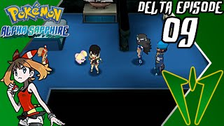 Pokémon Alpha Sapphire - Delta Episode (Part 9) - Team Aqua Hideout - Gameplay Walkthrough