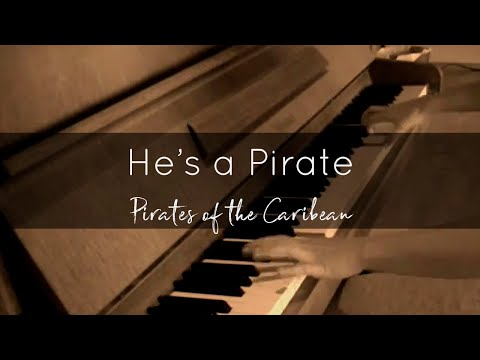 He's a Pirate (Pirates of the Caribbean, Klaus Badelt) Piano Cover