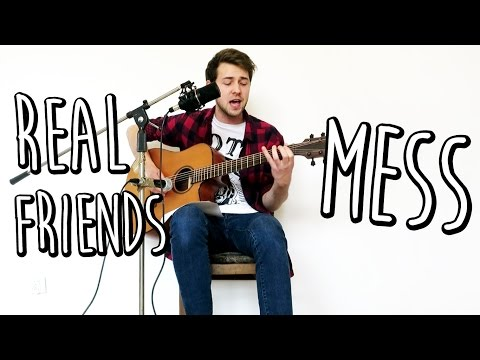 Real Friends - Mess (JB Live Acoustic Cover)