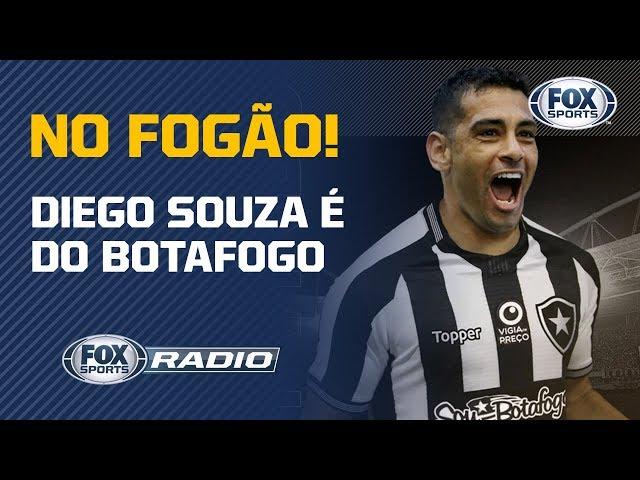 OFICIAL! Botafogo anuncia Diego Souza como novo reforço
