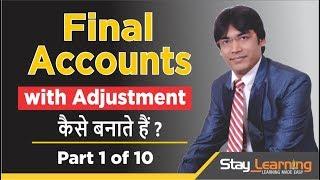 Definitieve Rekeningen Met Aanpassing 1 van de 10 door Vijay Adarsh | Klasse 11 & B Com | StayLearning
