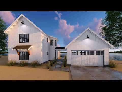 House Plans With Garage Attached By Breezeway