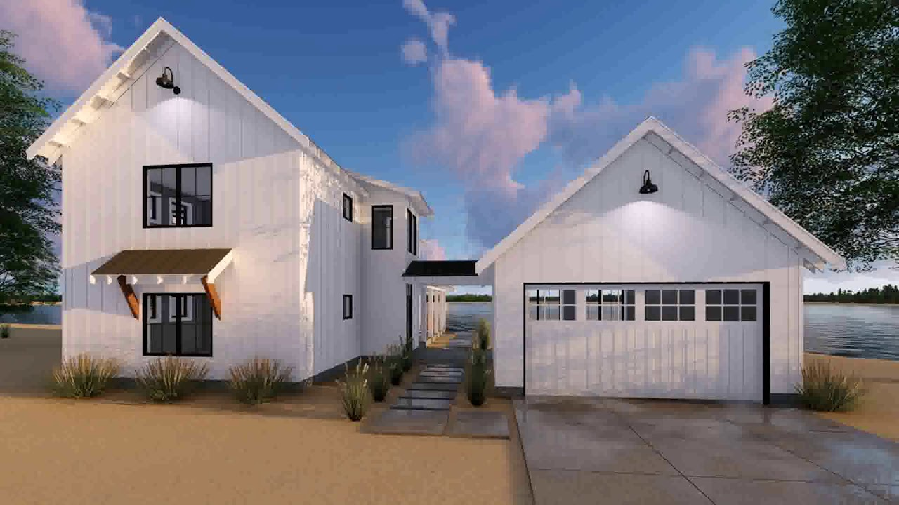 House plans with garage attached by breezeway youtube for Attached garage plans with breezeway