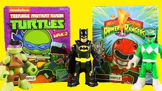 Imaginext Superheroes Huge Surprise Blind Bag Toys Collection With Marvel TMNT And Power Rangers