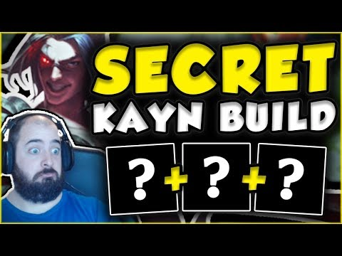 YOU WON'T BELIEVE HOW OP THIS SECRET KAYN BUILD IS! NEW KAYN TOP GAMEPLAY! - League of Legends