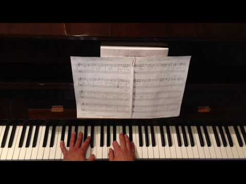 How to Play Pure Imagination (Jazz Piano Tutorial)
