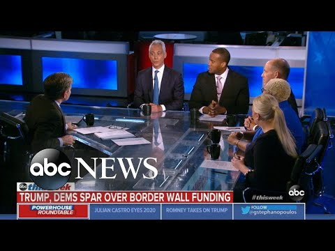 Rahm Emanuel: Trump's 'base will follow him... over a cliff' even if no border wall